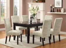 Newbridge Scripted 7pc Dining Room Set Available Online in Dallas Texas
