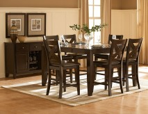 Crown Point 7pc Counter Height Dining Set Available Online in Dallas Texas