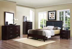 Edina Queen 5pc Low Profile Bedroom Set Available Online in Dallas Texas
