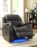 Jimmy Power Reclining Chair with Massage, LED & Cup Cooler