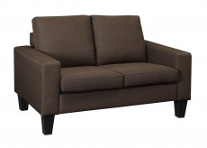 Bachman Chocolate Loveseat Available Online in Dallas Texas