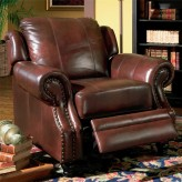 Princeton Leather Recliner Available Online in Dallas Texas