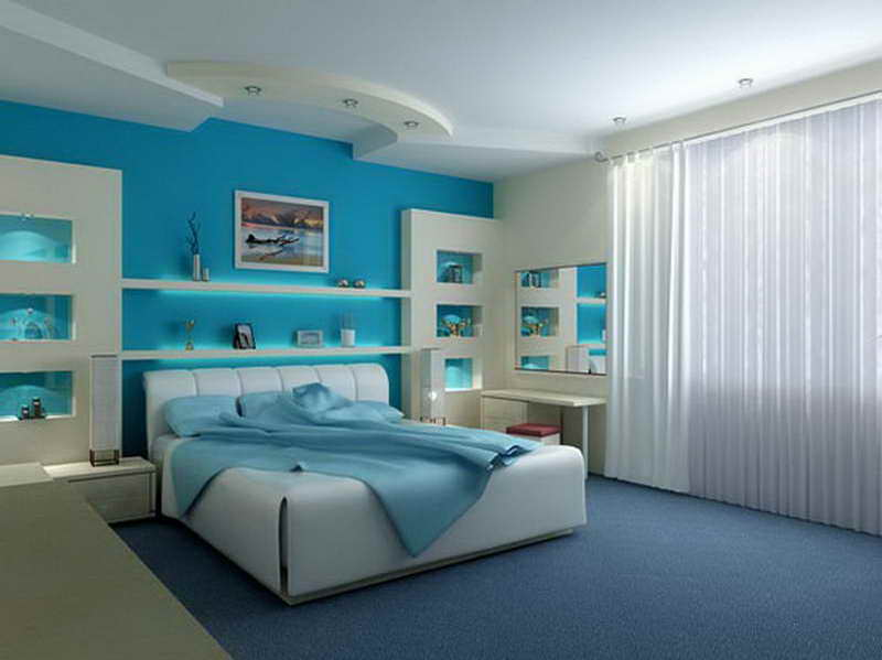 Blue Bedroom Paint Colors blue-bedroom-paint-colors-warmth-ambiance-for-your-room-with-white