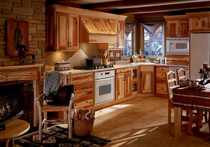 Nice Modern Rustic Kitchen Designs