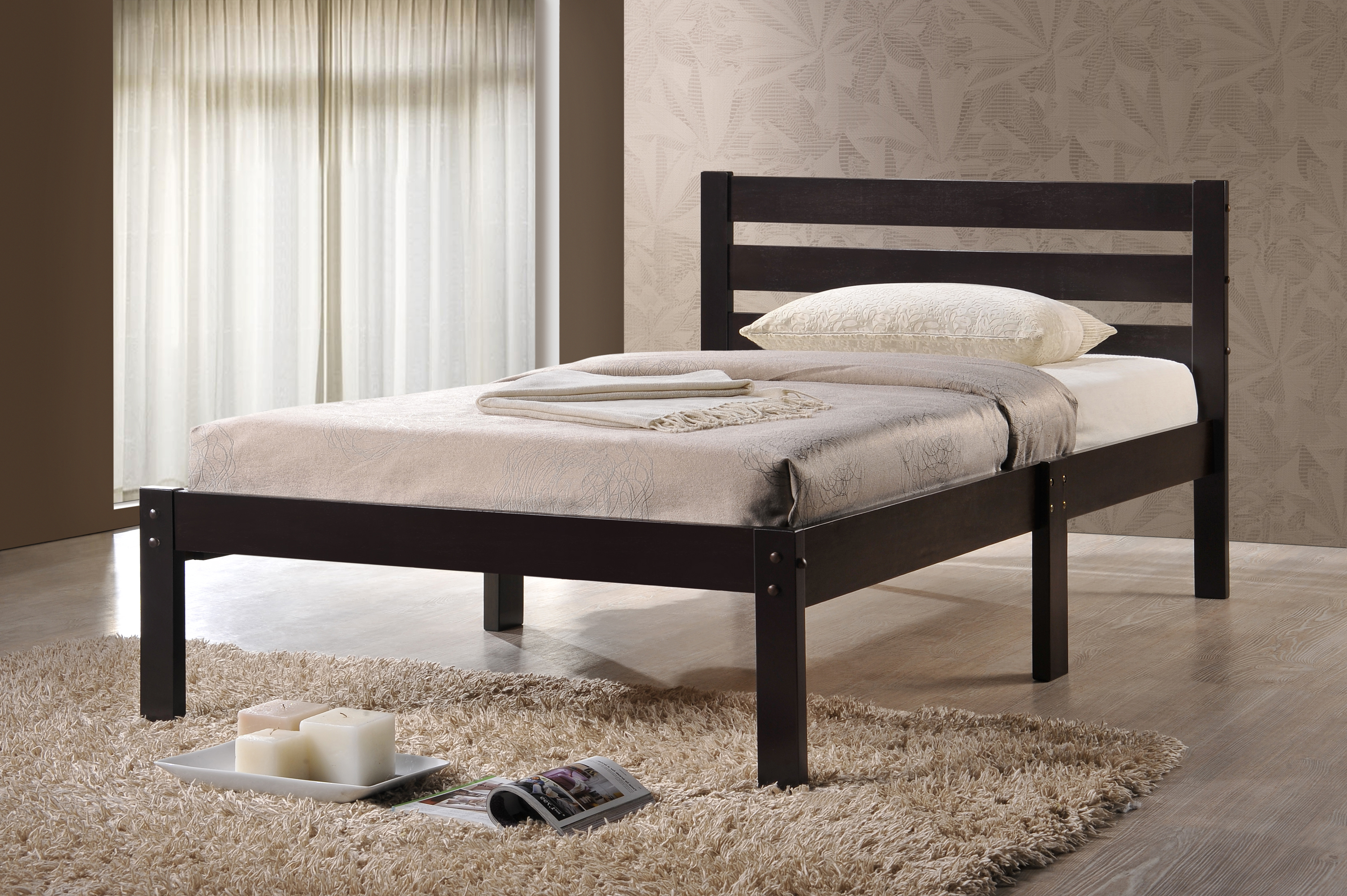 mako twin platform bed dallas tx | kids bed - furniture nation