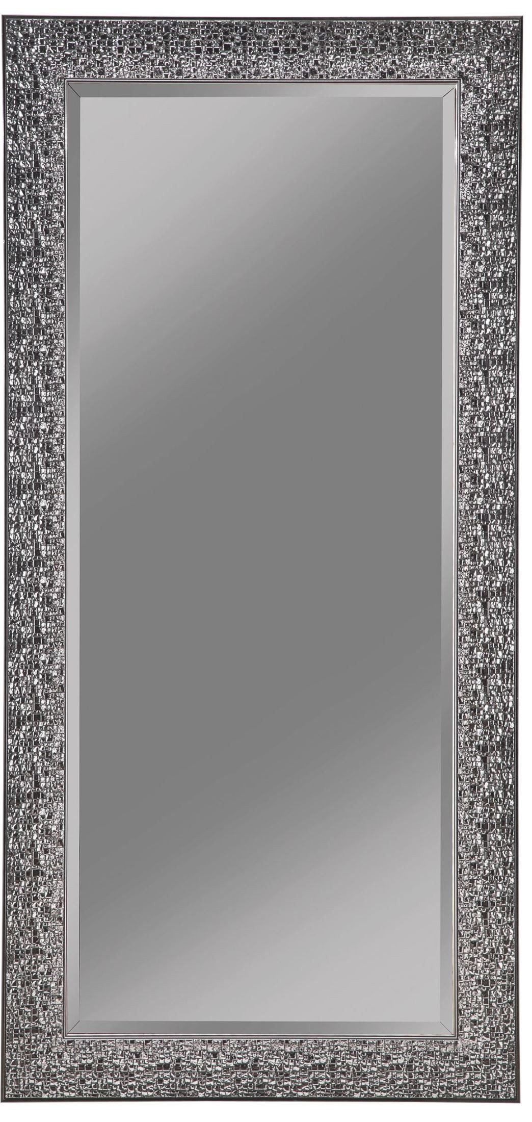Coaster Accent Mirror Black Accent Mirror With Colored