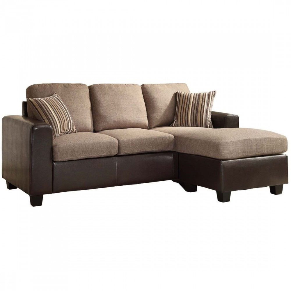 Admirable Homelegance Slater Reversible Sofa Chaise Onthecornerstone Fun Painted Chair Ideas Images Onthecornerstoneorg