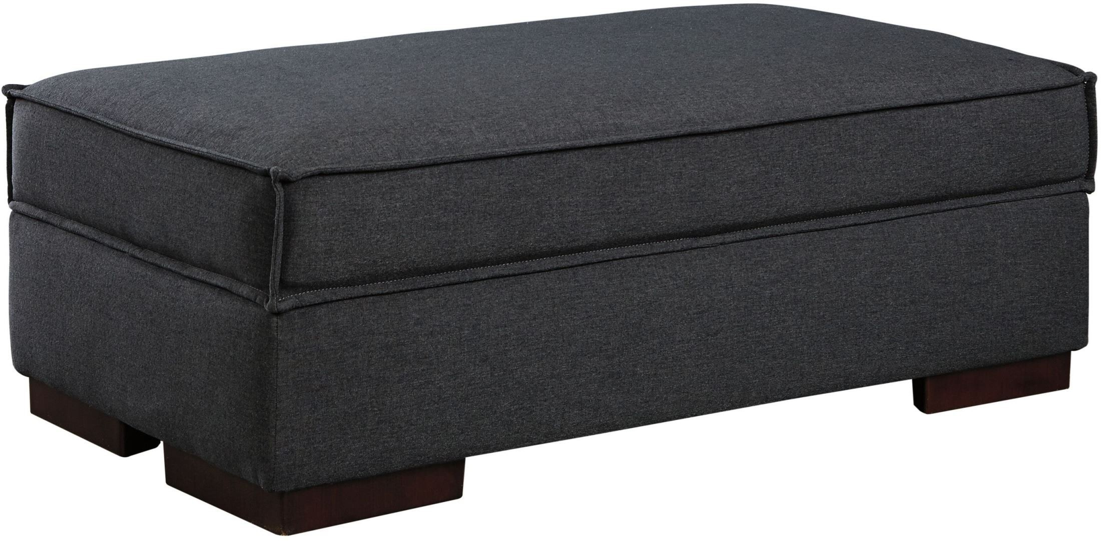 Ashley Gamaliel Charcoal Ottoman With Storage Dallas TX