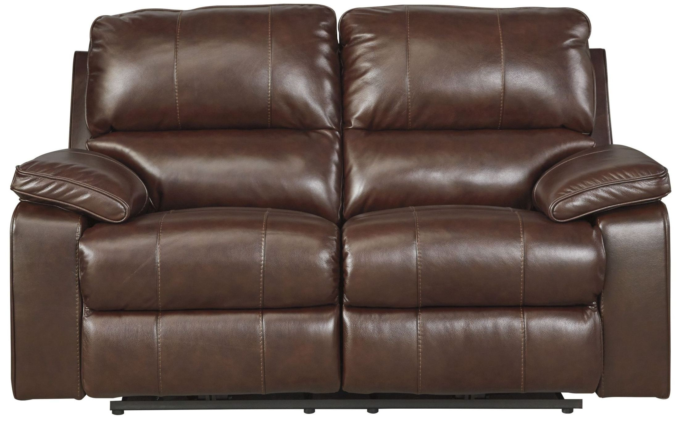 ashley transister coffee power reclining loveseat dallas