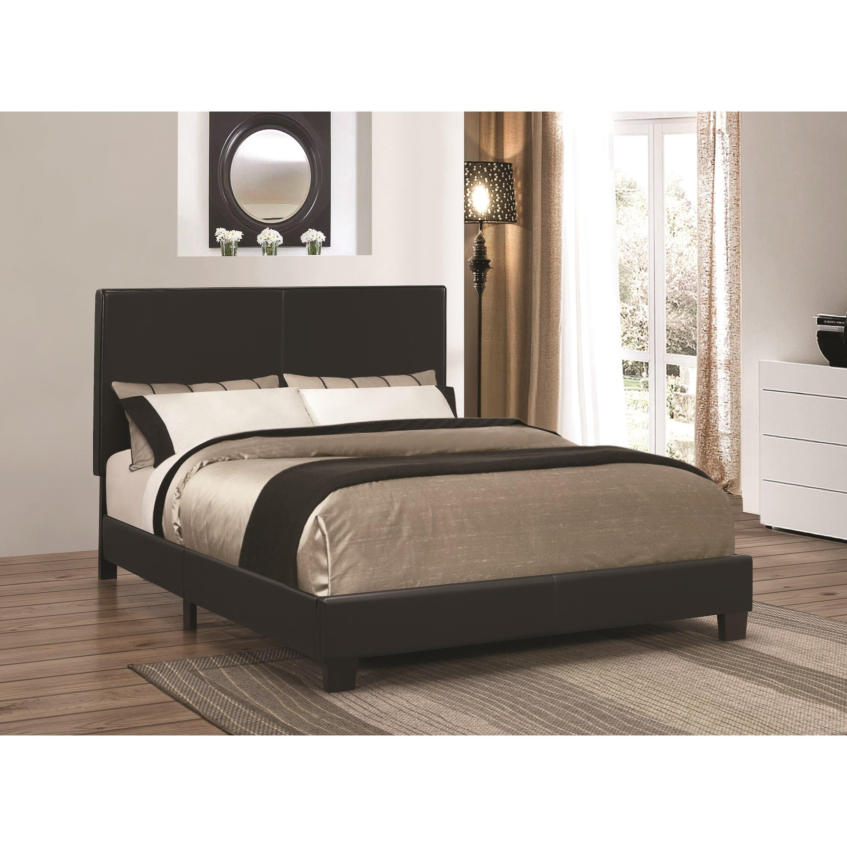 Picture of: Coaster Mauve Black Full Low Profile Bed Dallas Tx Kids Bed Furniture Nation