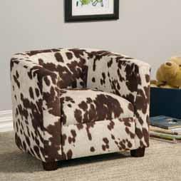 Pleasant Coaster Cowhide Kids Chair Gmtry Best Dining Table And Chair Ideas Images Gmtryco