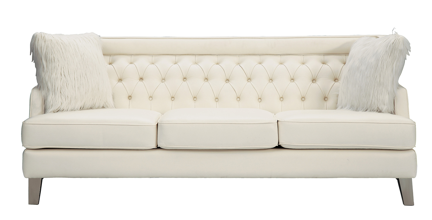 Homelegance Nevaun Cream Sofa Dallas Tx