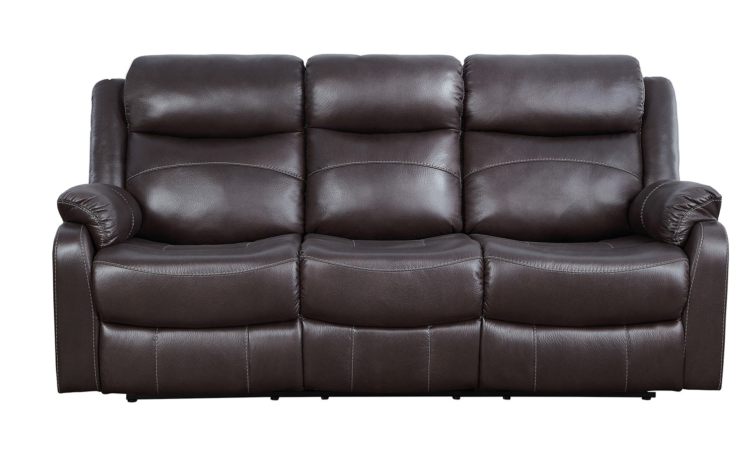 Homelegance Yerba Dark Brown Sofa Dallas TX | Living Room Sofa ...