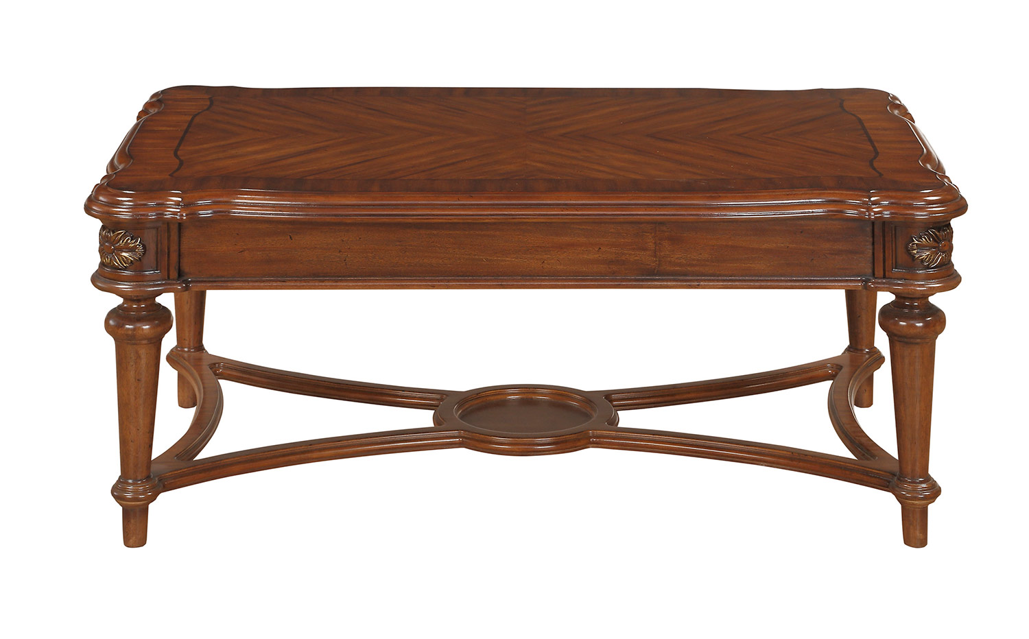 Homelegance Barbary Cherry Coffee Table Dallas Tx Occasional