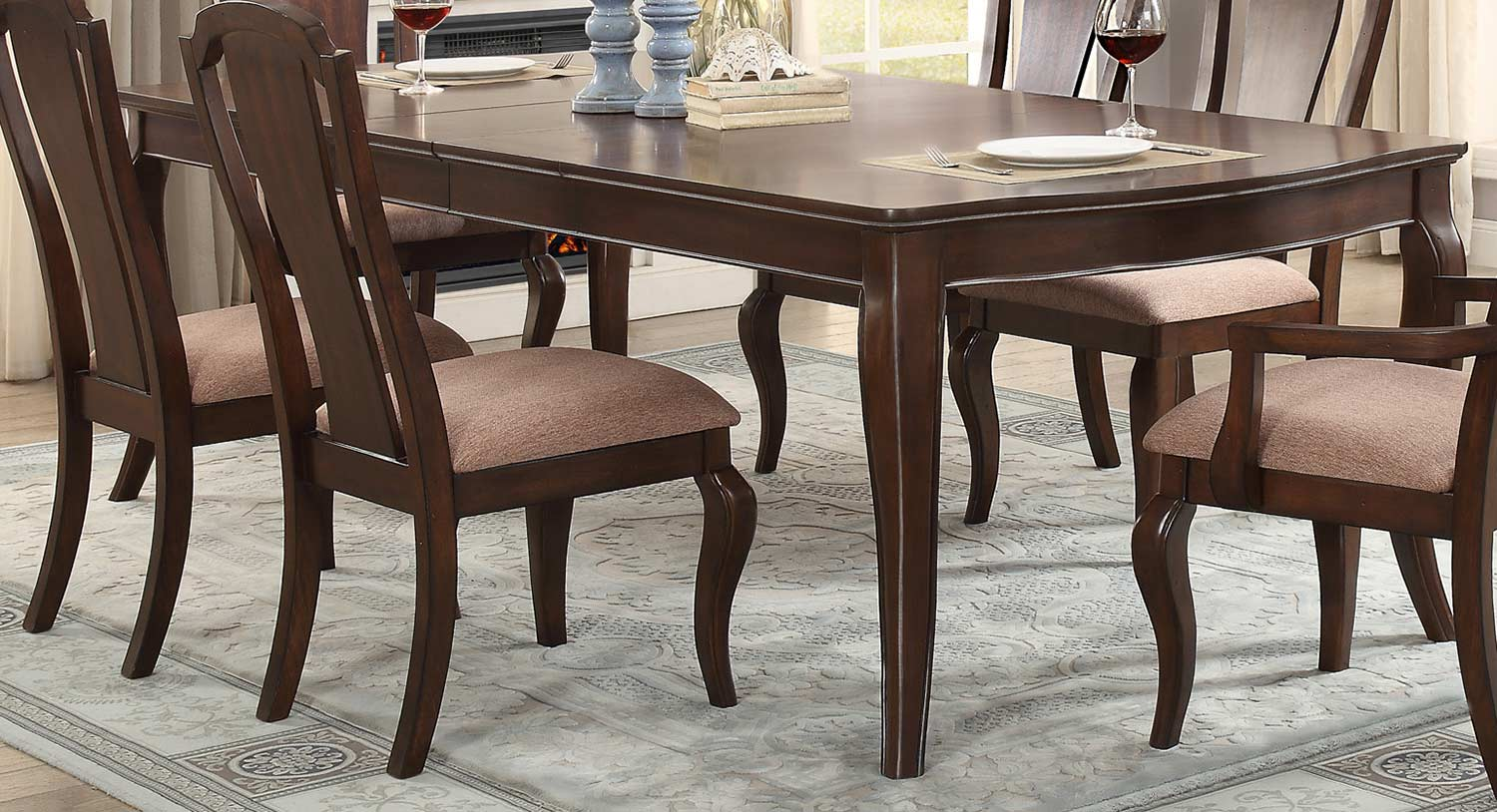 Homelegance Coleraine Cherry Dining Table