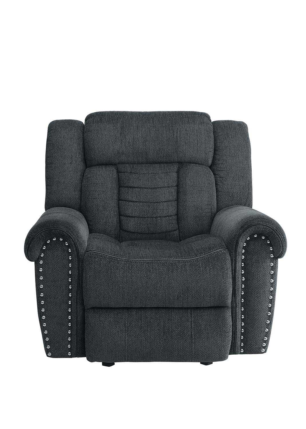 Homelegance Nutmeg Charcoal Glider Reclining Chair