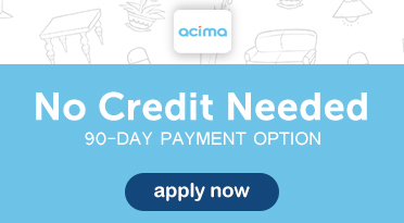 No Credit Check , 90 Day Payment Option