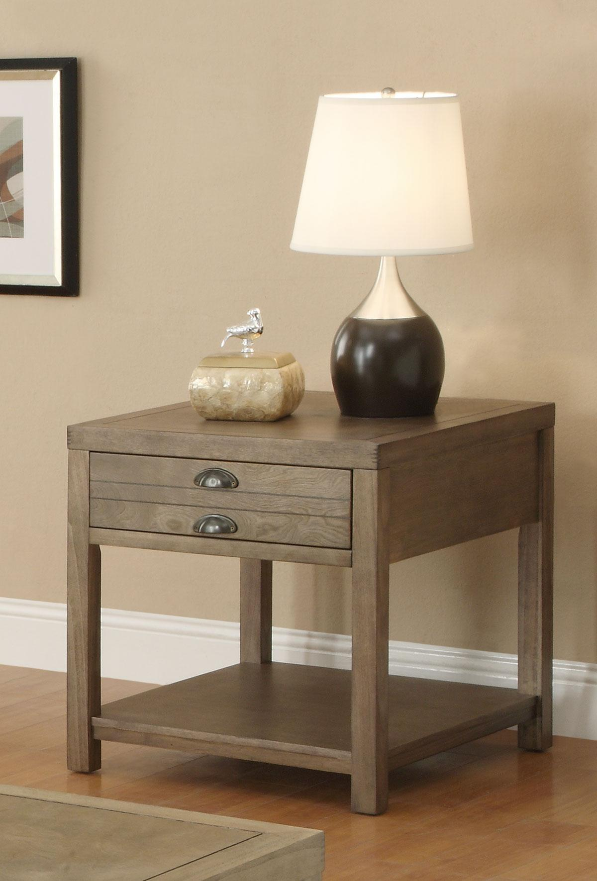 Picture of: Coaster Driftwood End Table Dallas Tx Occasional Tables Furniture Nation