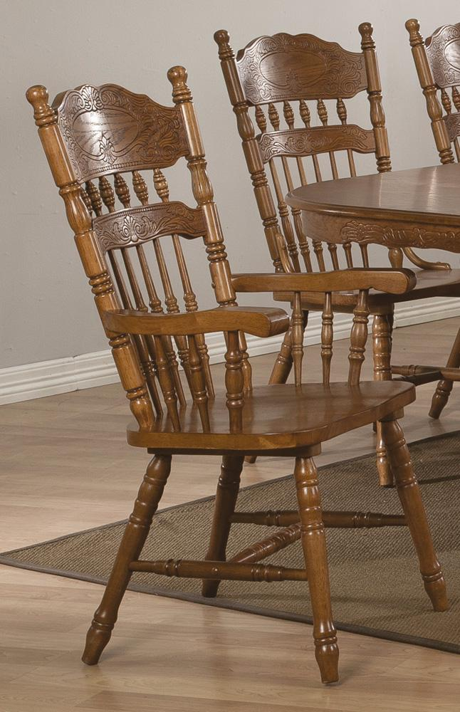 Brooks Arm Chair Dallas TX Dining Room Dining Chair