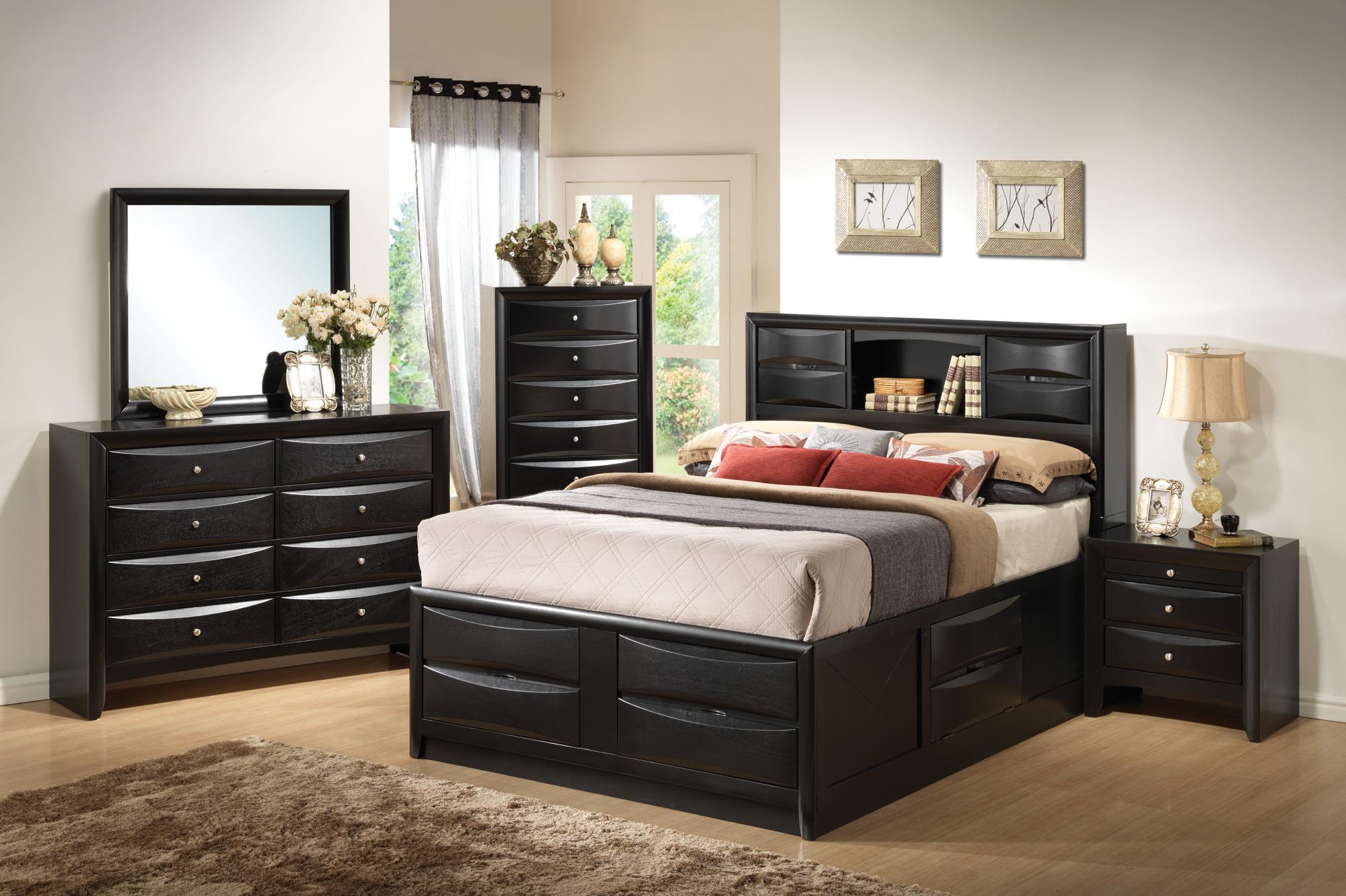 Remarkable Coaster Briana Queen 5Pc Storage Bedroom Set Download Free Architecture Designs Photstoregrimeyleaguecom