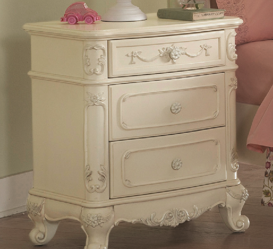 Homelegance Cinderella White Night Stand Dallas Tx Kids