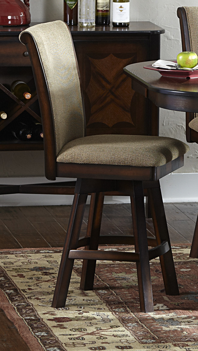 Homelegance Westwood Swivel Counter Height Chair Dallas Tx Dining Room Dining Chair Furniture Nation
