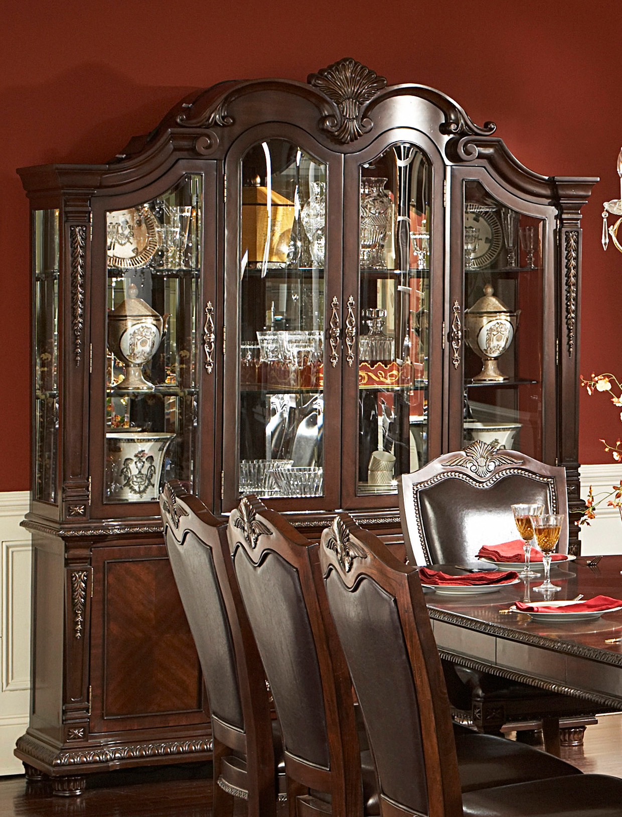 Homelegance Palace Buffet Amp Hutch Dallas Tx Dining Room