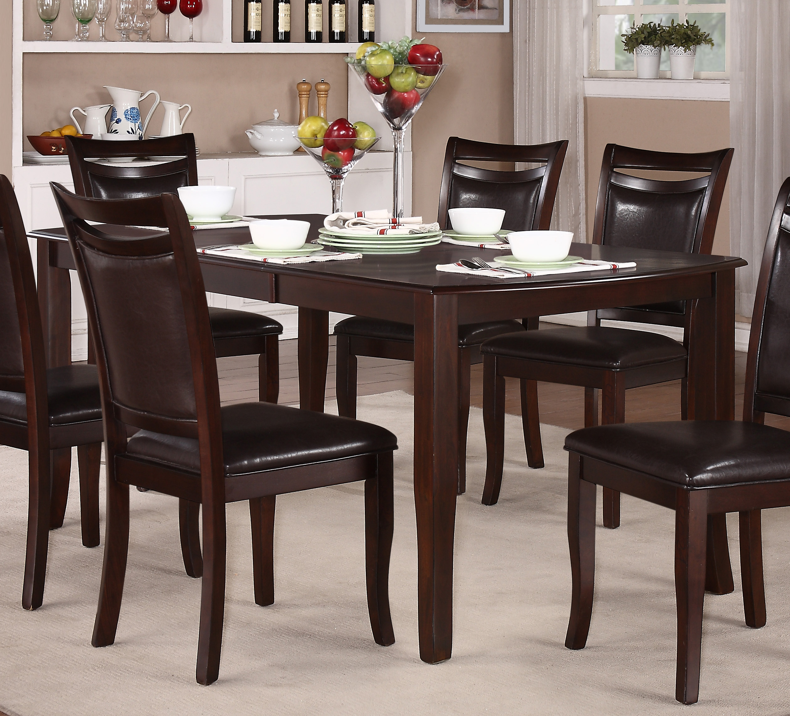 Dining Room Furniture Dallas Tx: Homelegance Maeve Dining Table Dallas TX
