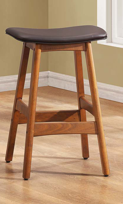 Counter Height Saddle Stools : Saddle Dark Brown Counter Height Stool Available Online in Dallas Fort ...