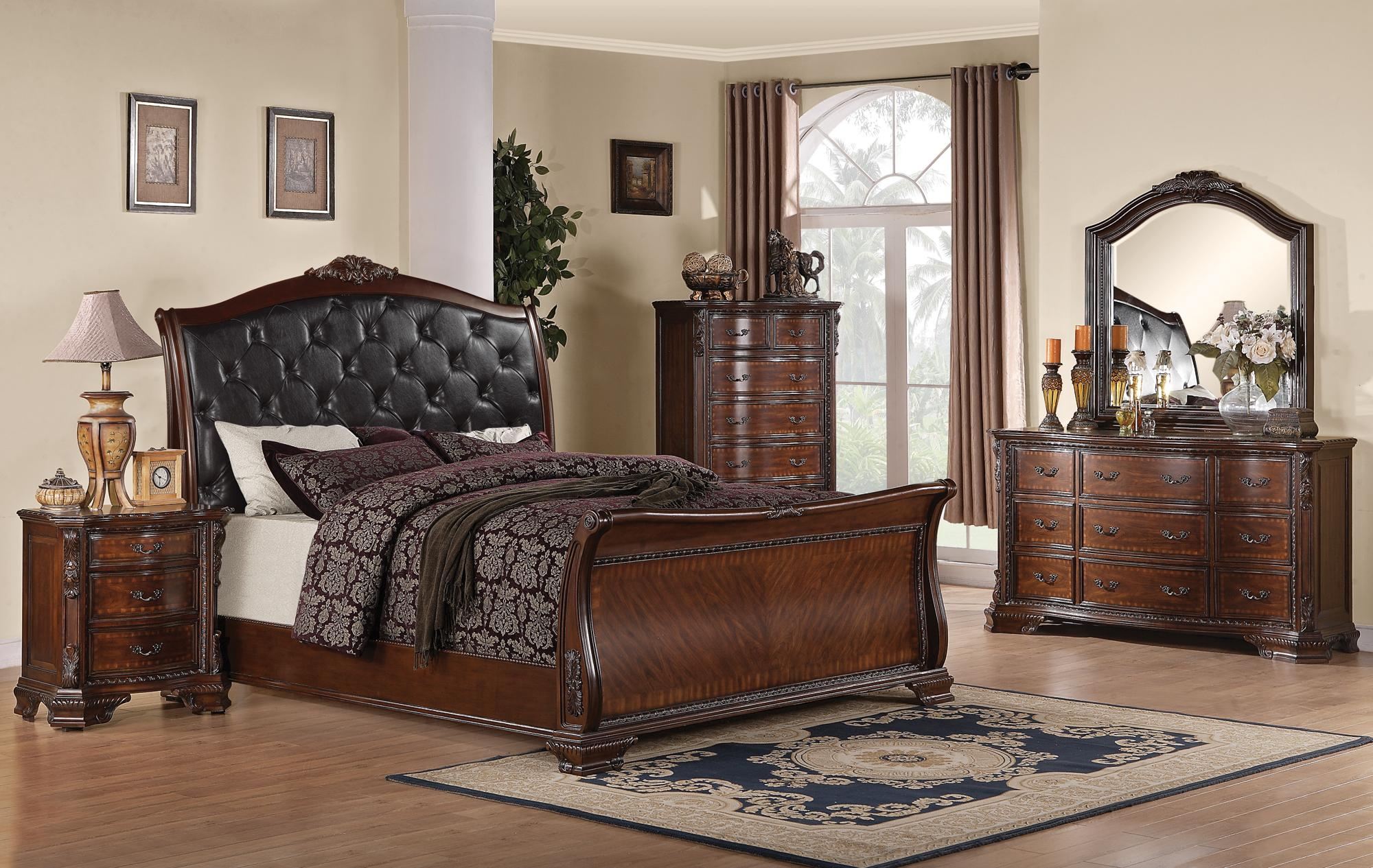 Pleasing Coaster Maddison 5Pc Queen Sleigh Bedroom Group Download Free Architecture Designs Photstoregrimeyleaguecom