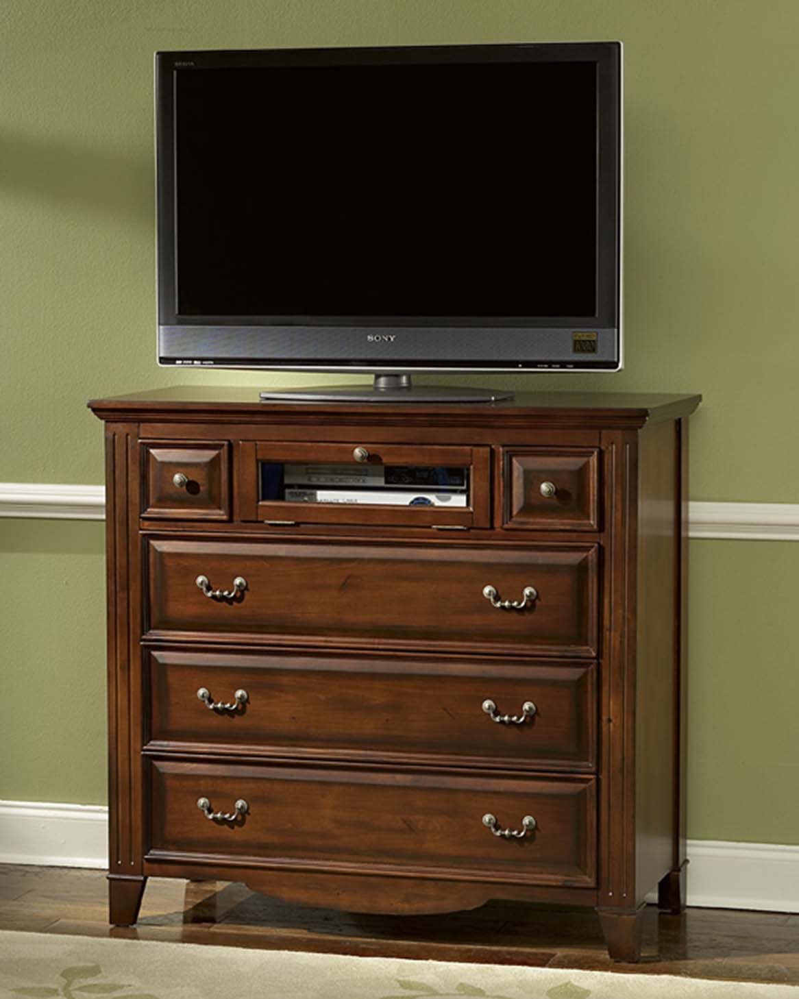 new classic drayton hall 6 drawer media console dallas tx bedroom media chest furniture nation. Black Bedroom Furniture Sets. Home Design Ideas