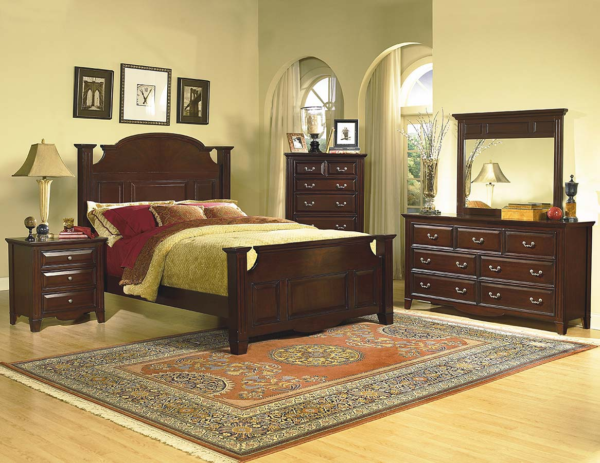 drayton hall queen 5pc poster bedroom group dallas tx | bedroom