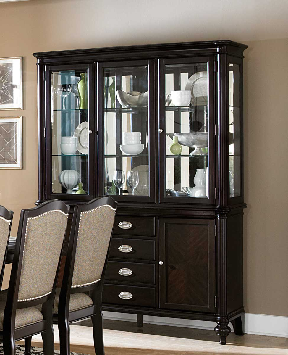 Dining Room Buffet Hutch: Homelegance Marston China Cabinet Dallas TX
