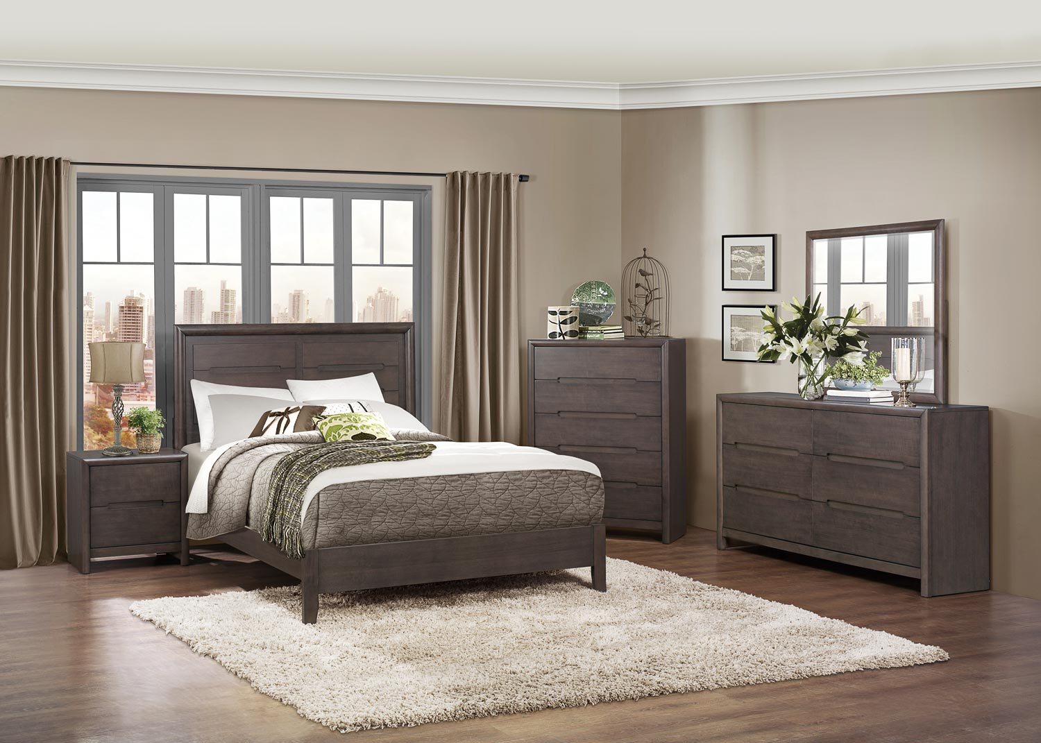 Lavinia Queen 5pc Bedroom Group Dallas TX