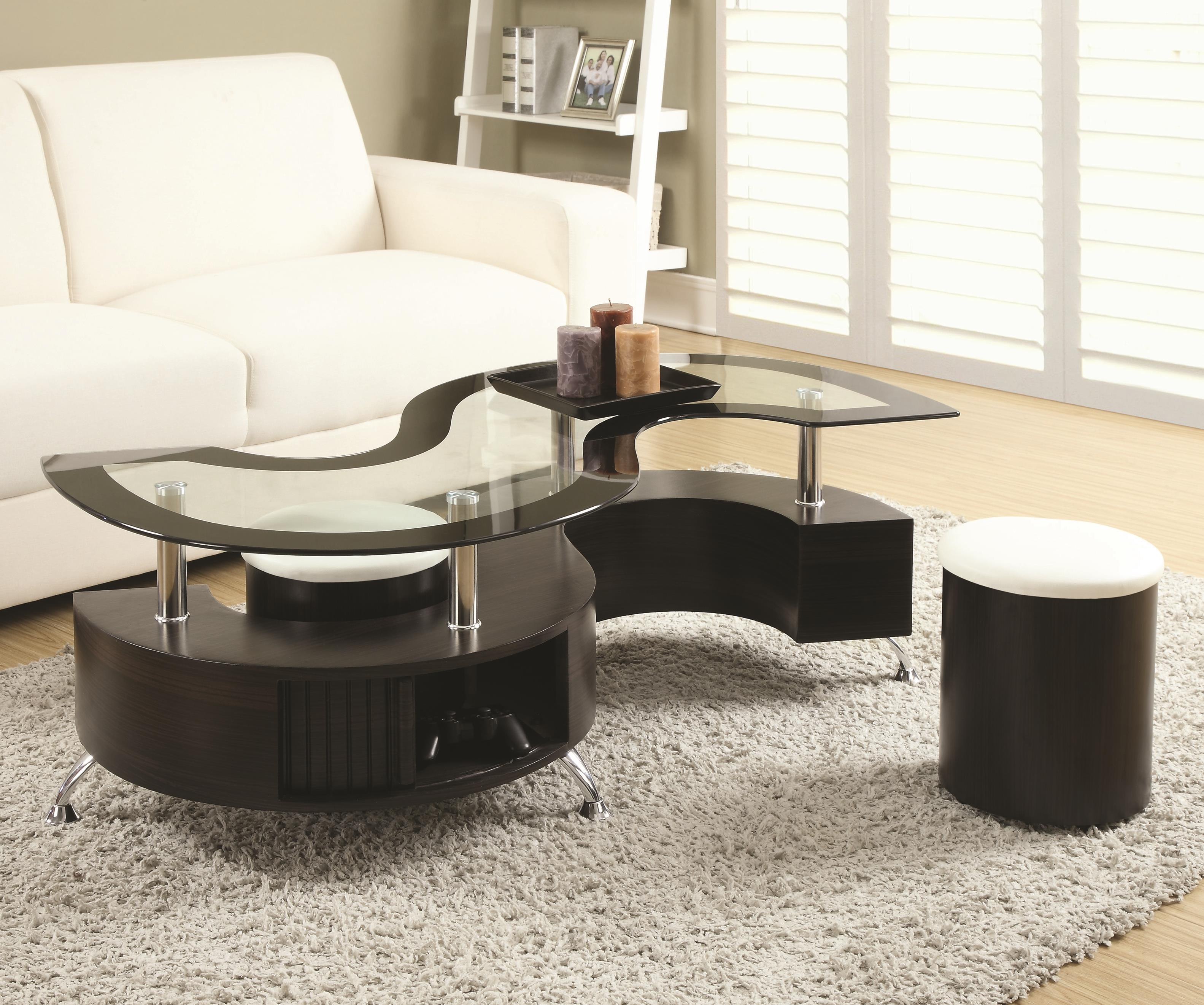 Coaster Modern S Coffee Table Dallas Tx Occasional Tables