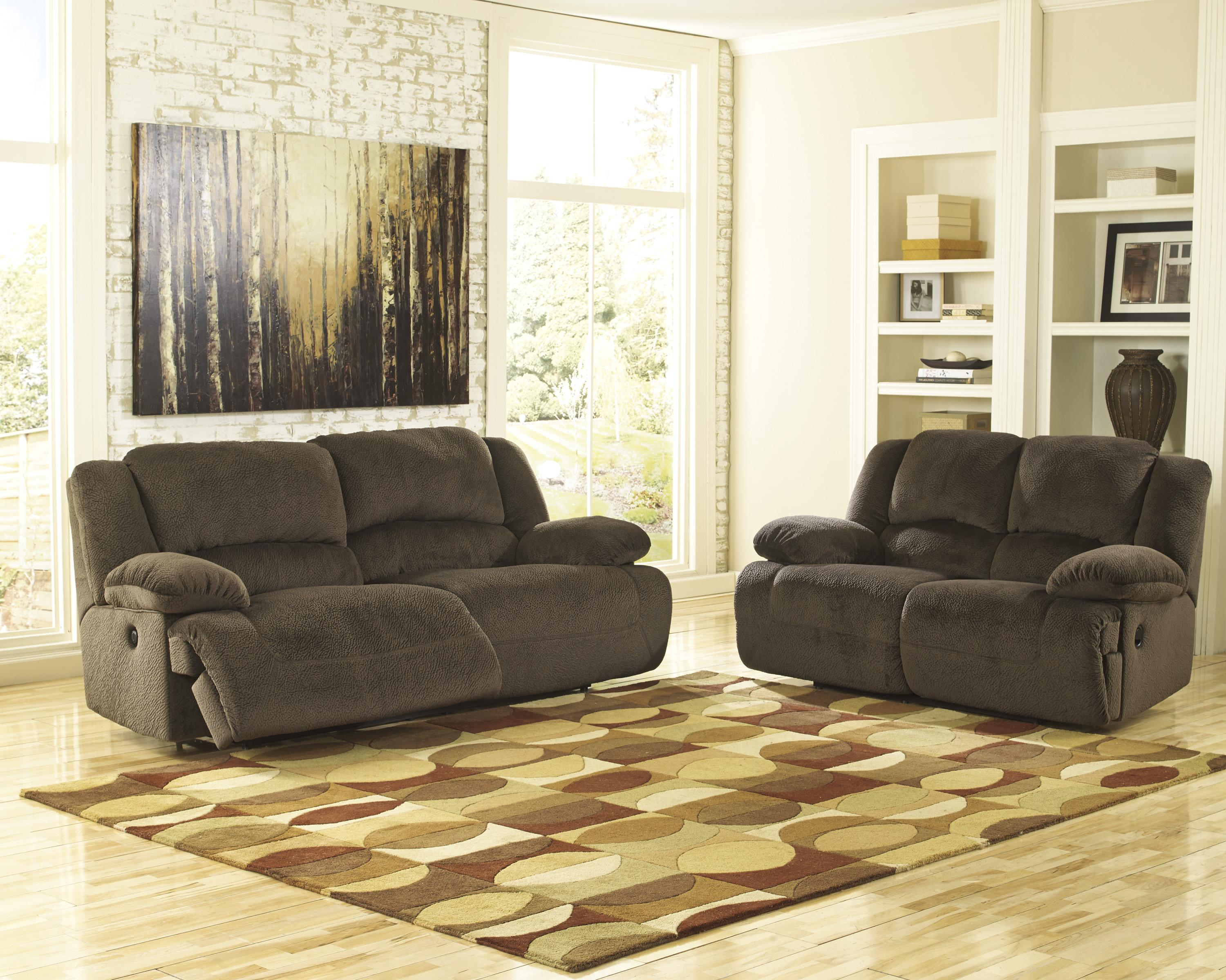 Ashley Toletta 2pc Recliner Sofa And