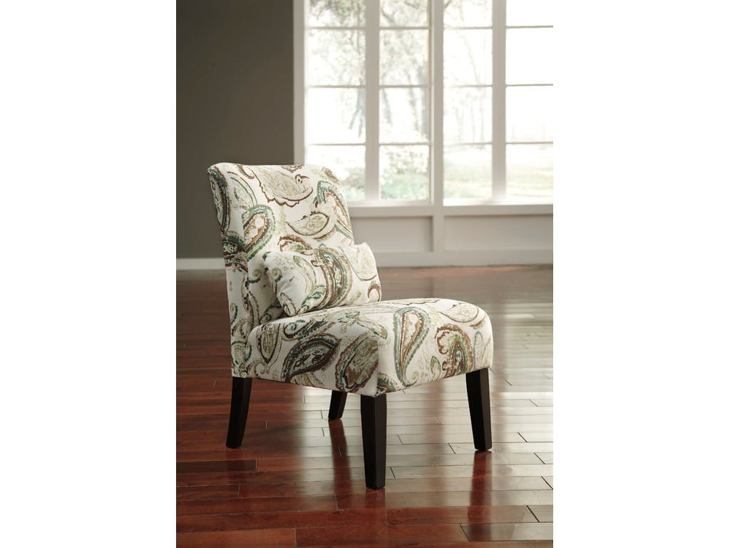 Ashley Annora Paisley Accent Chair Dallas Tx Living Room Chair Furniture Nation