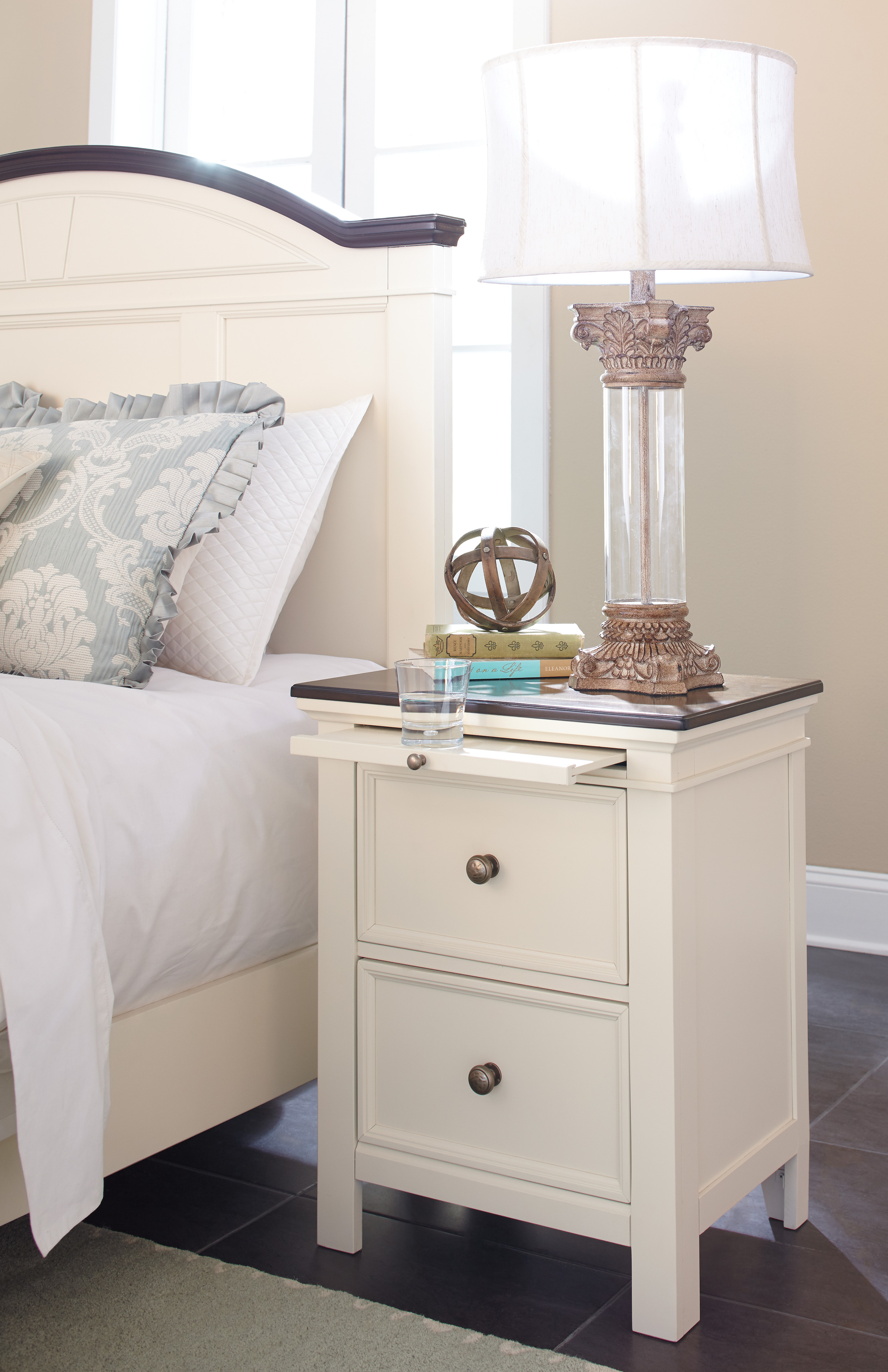 Ashley Woodanville Night Stand Dallas Tx Bedroom Night