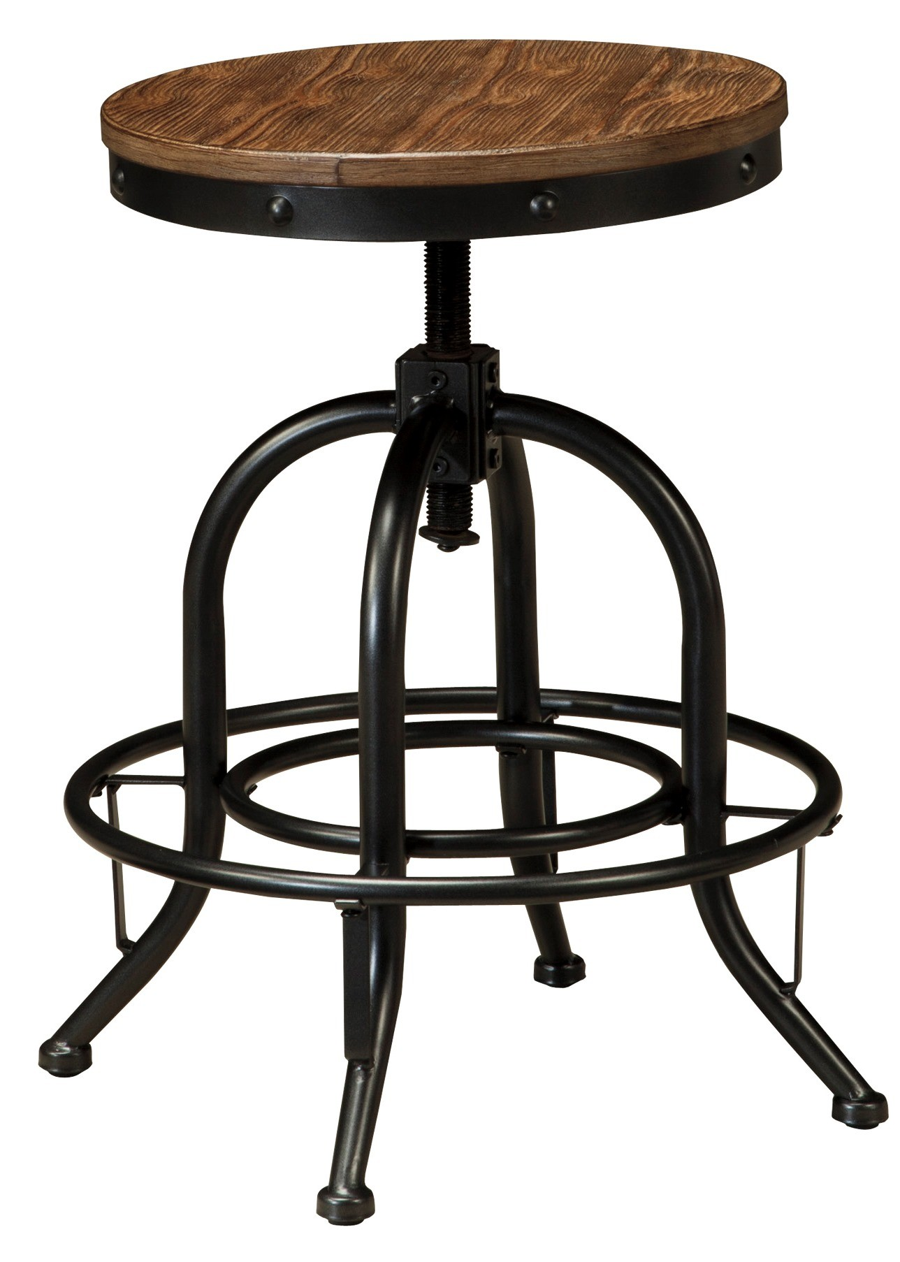 Ashley Pinnadel Brown Counter Height Bar Stool Without Back