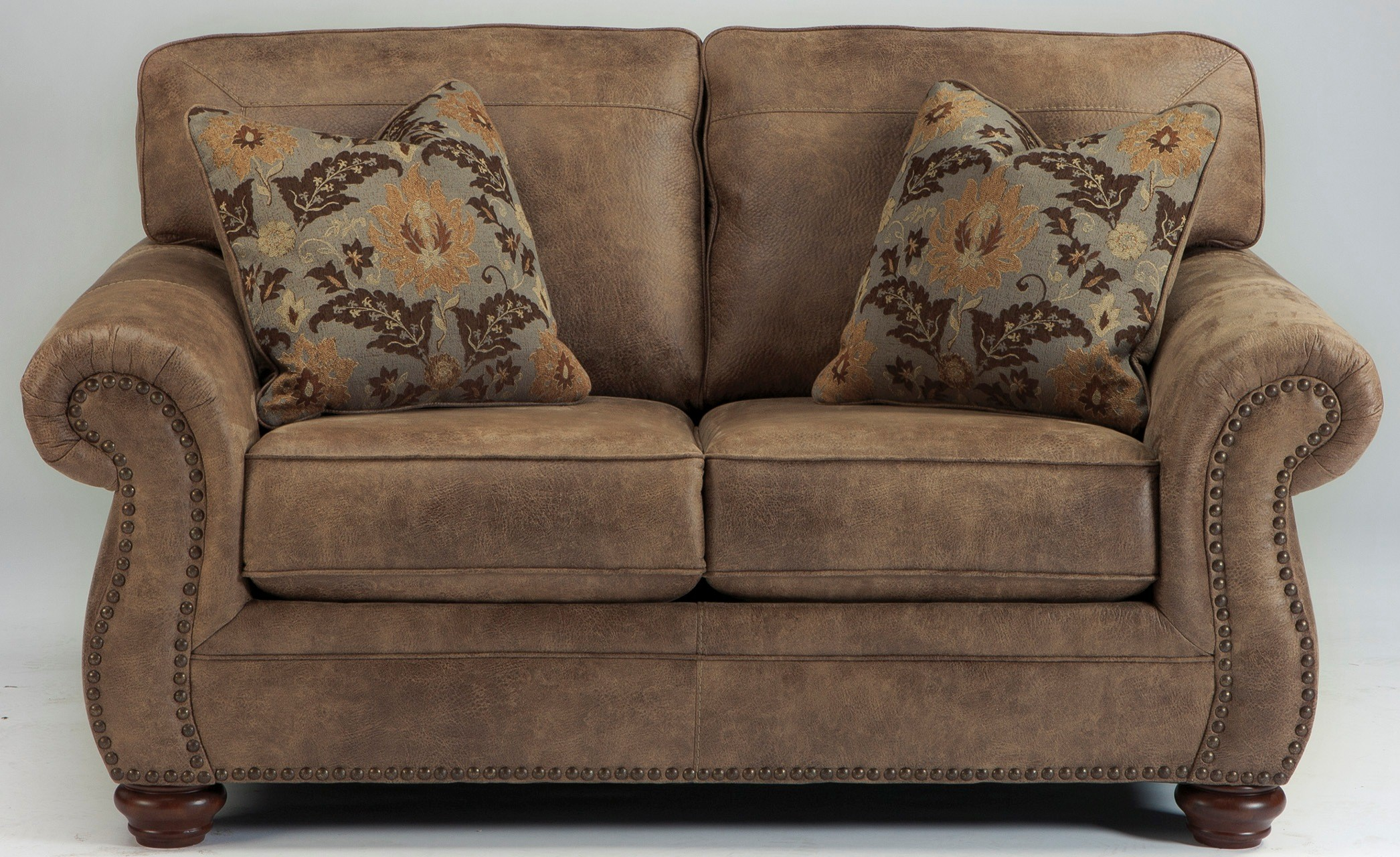 Ashley Larkinhurst Earth Loveseat Dallas Tx Living Room Loveseat Furniture Nation