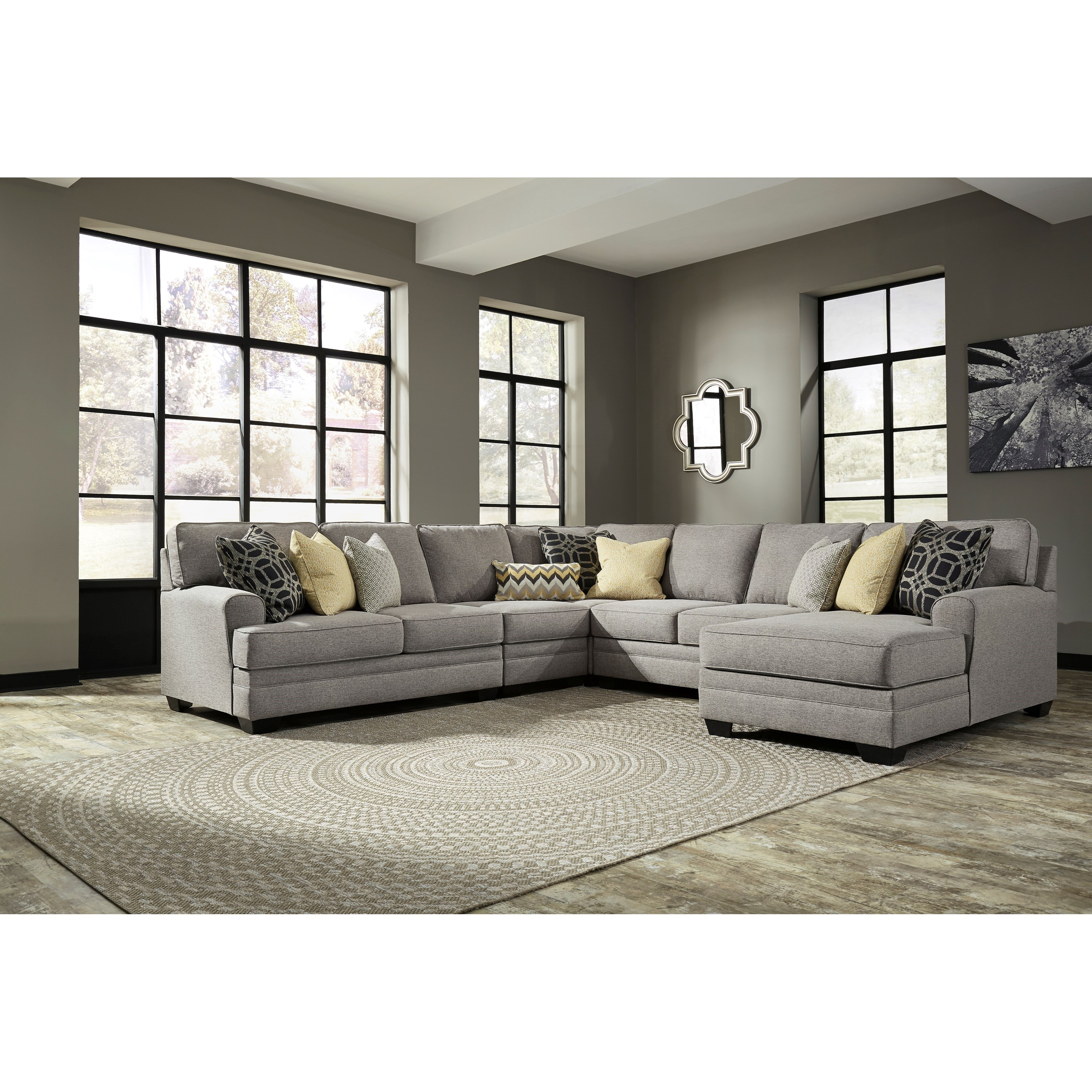Ashley Furniture Bryant Ar Collection Collection Ashley: Ashley Cresson 5pc Right Arm Facing Corner Chaise