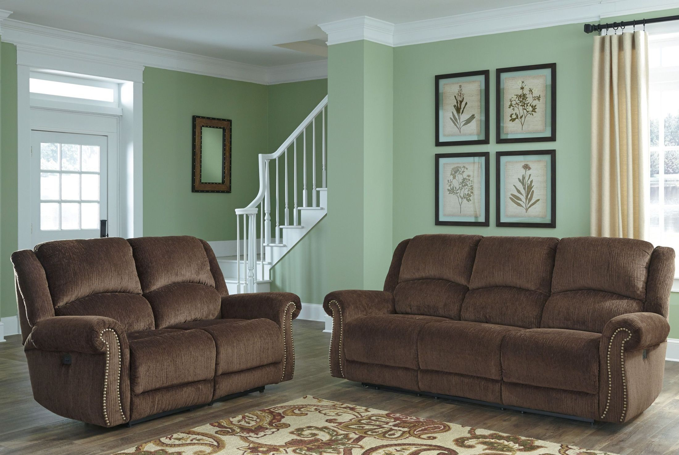 Ashley Goodlow Chocolate 2pc Sofa Amp Loveseat Set Dallas Tx