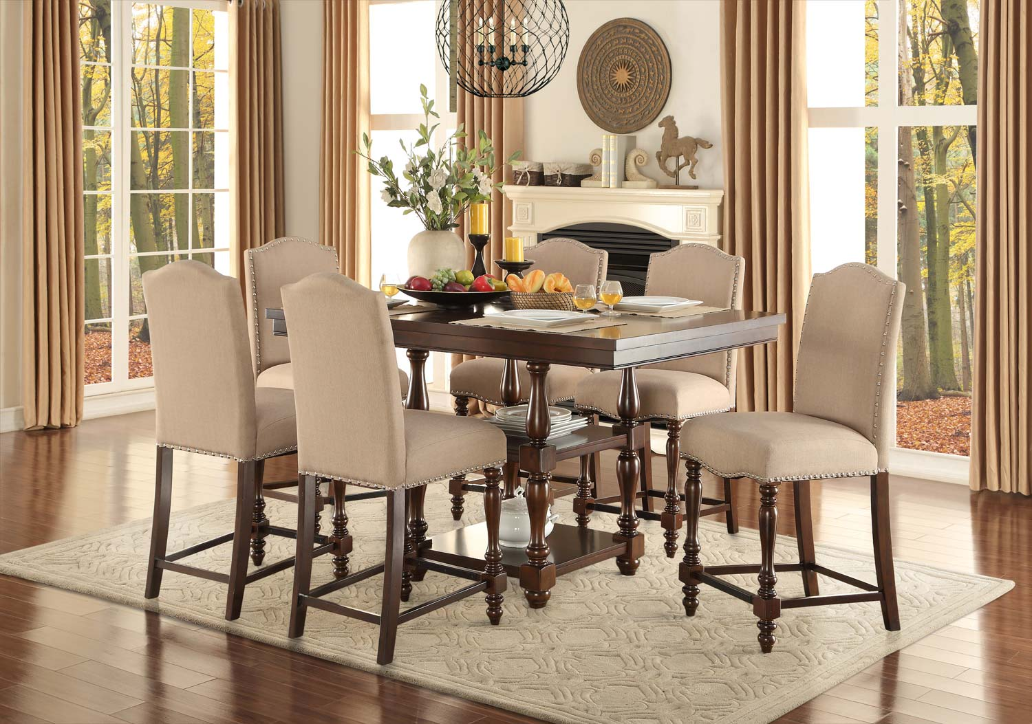 ... Counter Height Dining Room Set Available Online In Dallas Fort Worth.  Please Upgrade To Full Version Of Magic Zoom™