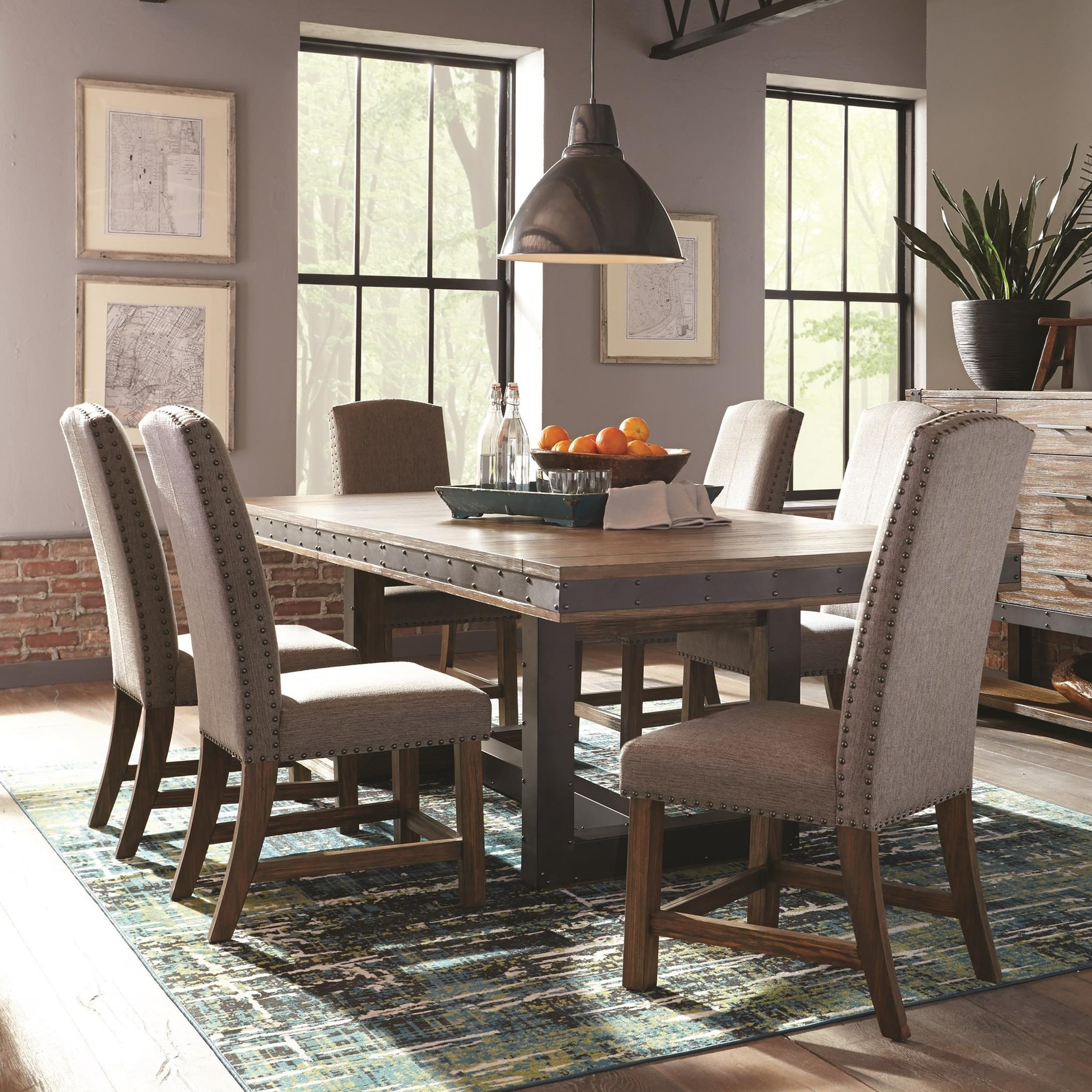 Dining Room Sets Dallas Tx: Coaster Atwater 7pc Dining Table Set Dallas TX