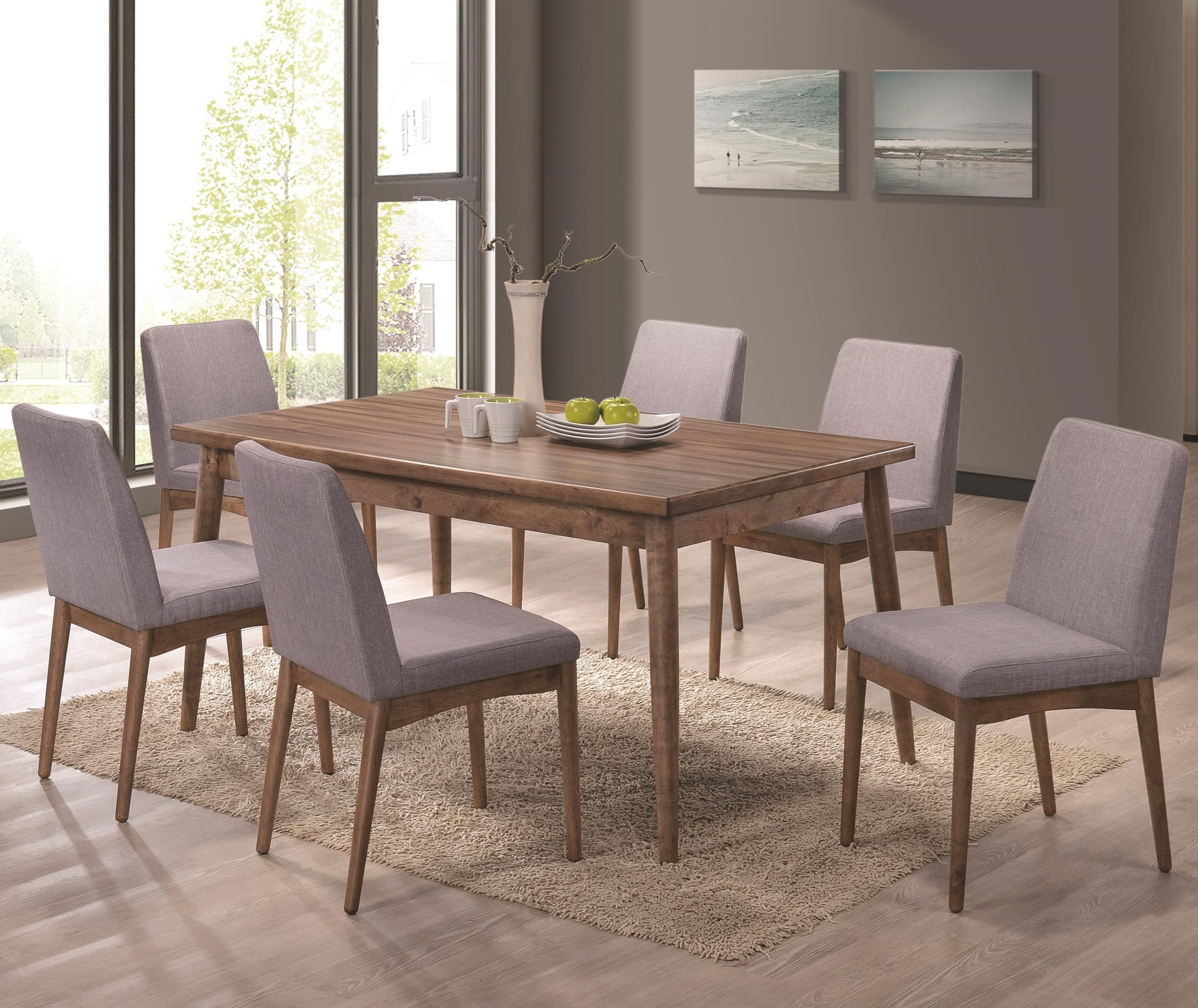 Dining Room Furniture Dallas Tx: Coaster Pasquil 7pc Dining Table Set Dallas TX