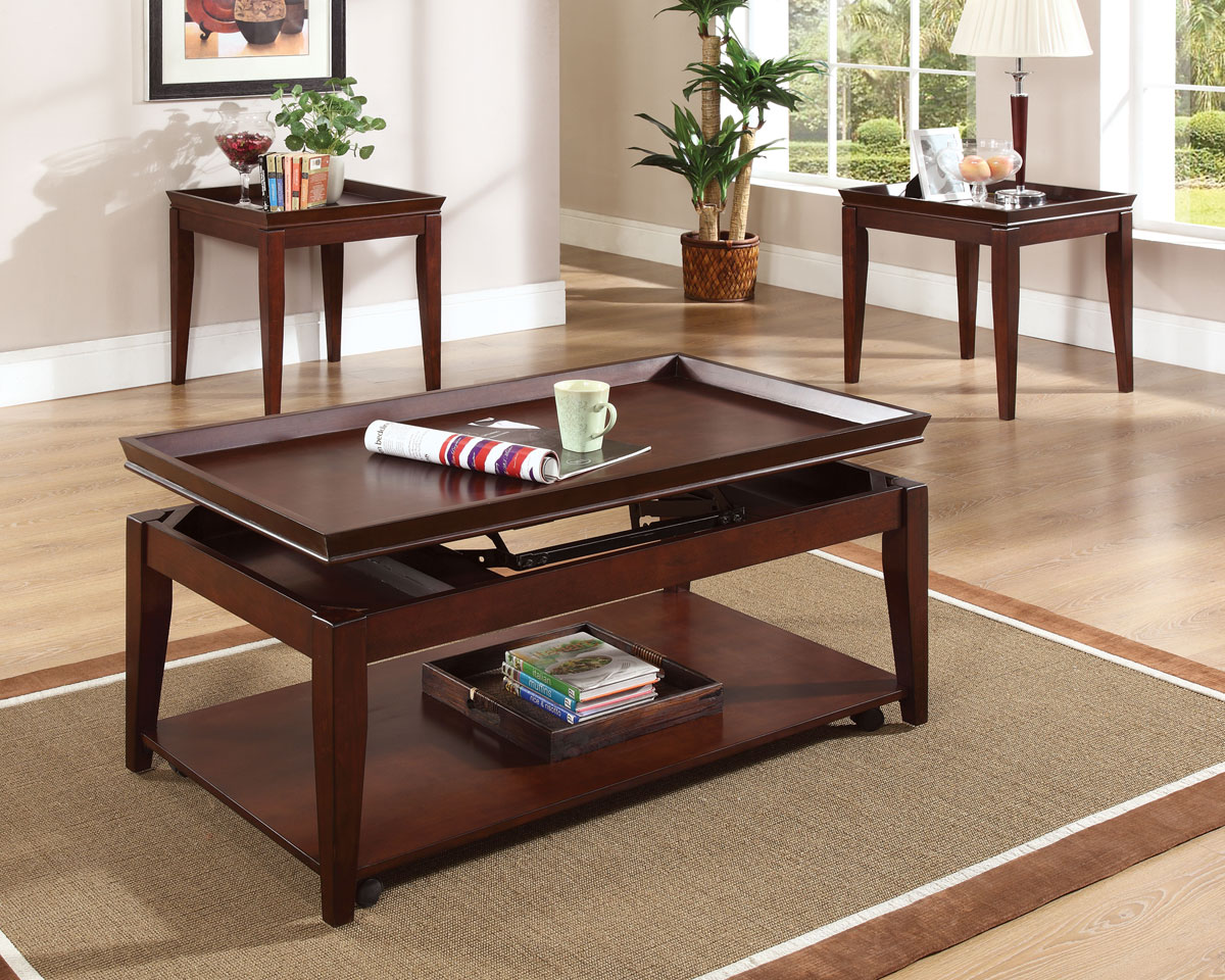Stevesilver Clemens 3pc Lift Top Coffee Table Set Dallas Tx Occasional Tables Furniture Nation