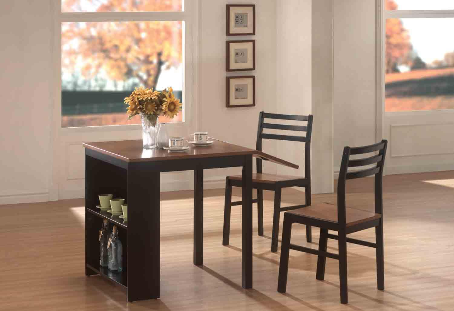Coaster Roxanne 3pc Dining Table Set