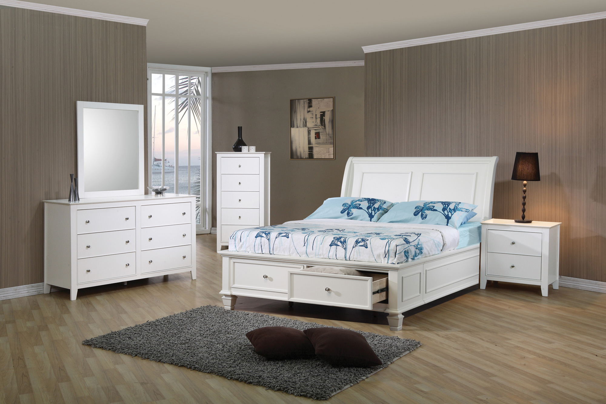 Coaster Selena 5pc Twin Storage Bedroom Set