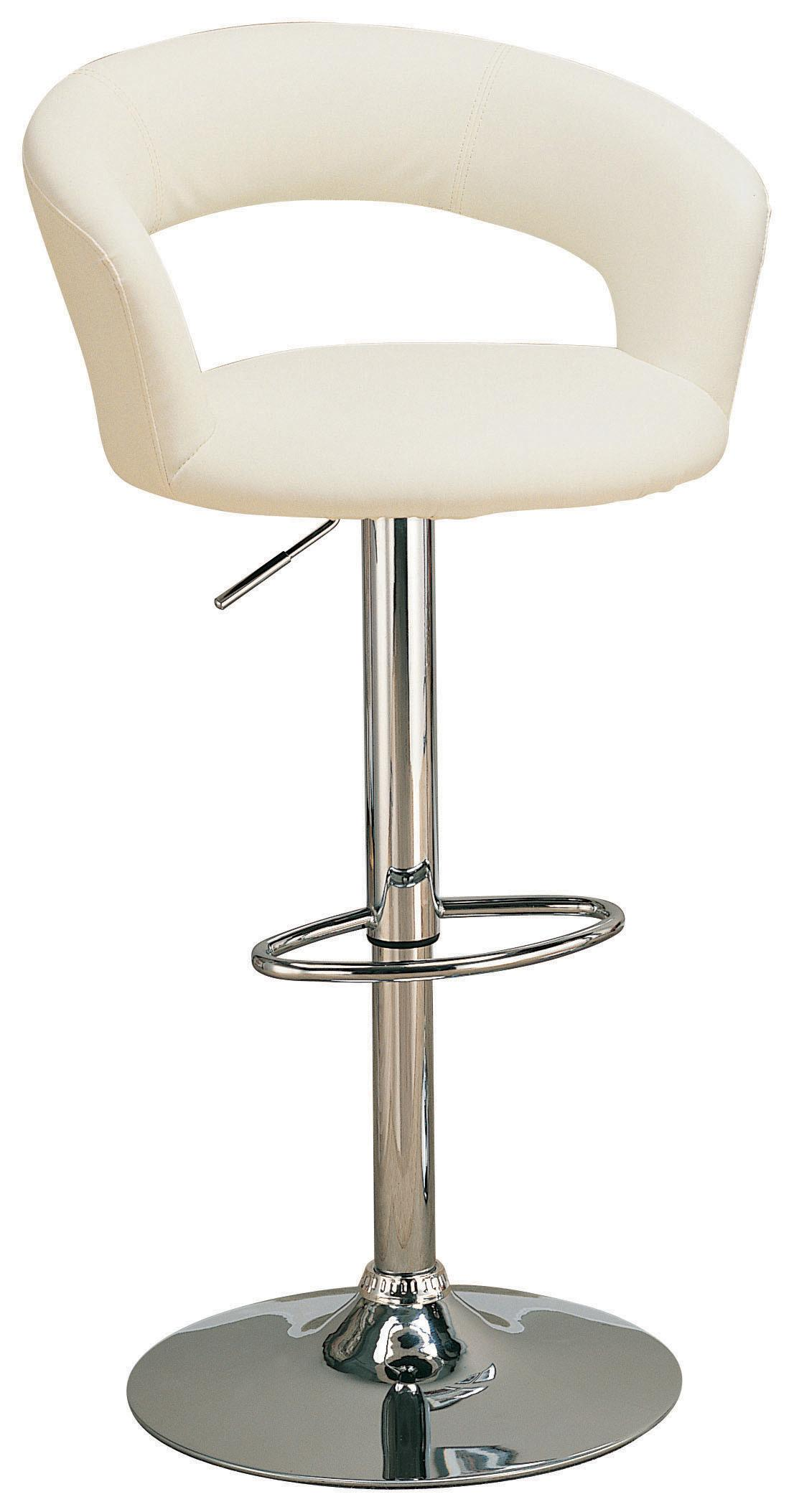 Coaster Nico White Barstool Dallas Tx Dining Room Barstool Furniture Nation