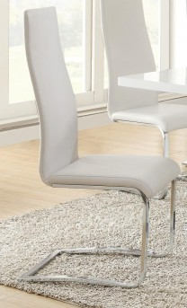 Coaster Nameth White Side Chair Available Online in Dallas Fort Worth Texas